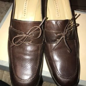Brown Apostrophe Shoes